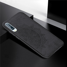For Samsung Galaxy A50 Cover Case 3D Luxury Cloth Fabric Phone