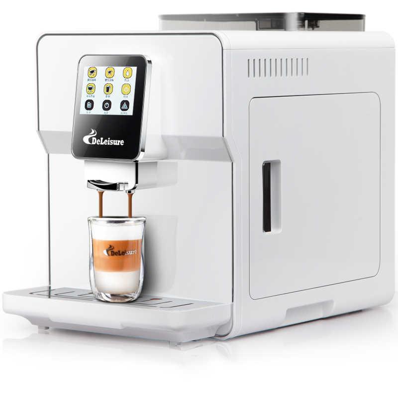 מגע מסך אחד-כפתור קפה מכונה ביתי משרד מסחרית אוטומטית שימוש בלחץ גבוה איטלקי קיטור סוג