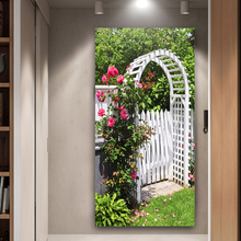 Canvas garden paintings flower prints and living room posters hd home decor TZ056