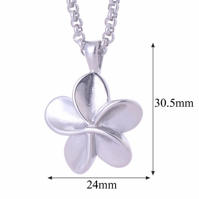 Flower Shaped Memorial Pendant