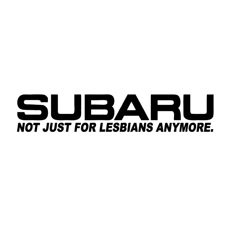Not Just For Lesbians Anymore Sticker Funny Jdm Race Car Window
