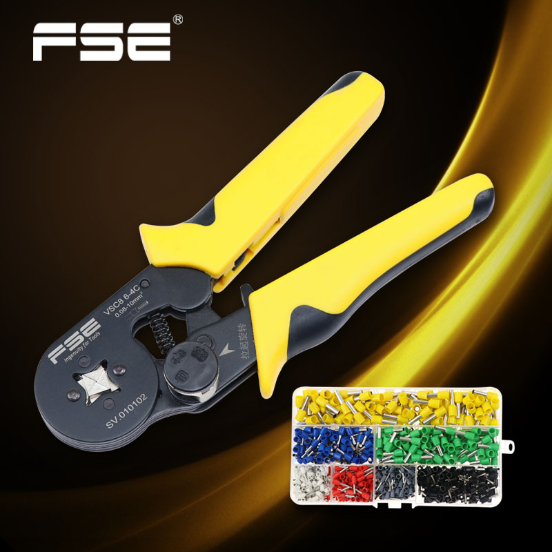 Fse Crimpen Werkzeug Crimper Kablo Kesici Zangen Kabel Werkzeuge Crimp Zange Draht Cutter Crimpador Mini Zange Hsc8 6-4 6-6 Plus Online Shop Werkzeuge