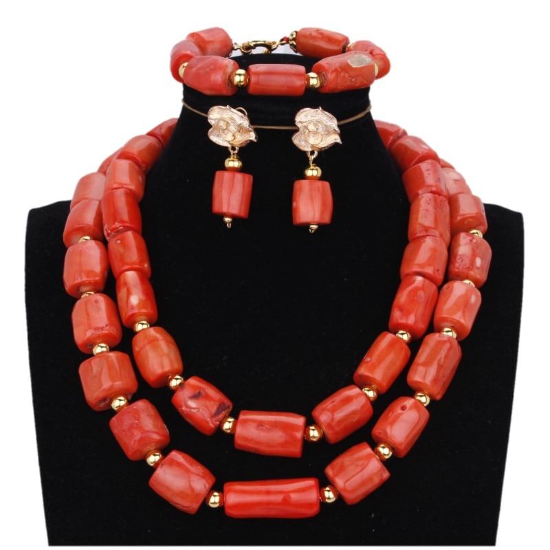 Moda Beads Africanos Conjunto de Jóias de