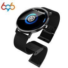 696 L6 Smart watch IP68 Waterproof Fitness Tracker Heart Rate Monitor Blood Pressure Bluetooth Smartwatch For Android IOS xaiomi ogeda men watch bluetooth f6 smartwatch ip68 waterproof heart rate monitor fitness tracker smart watch with multi sport mode t50