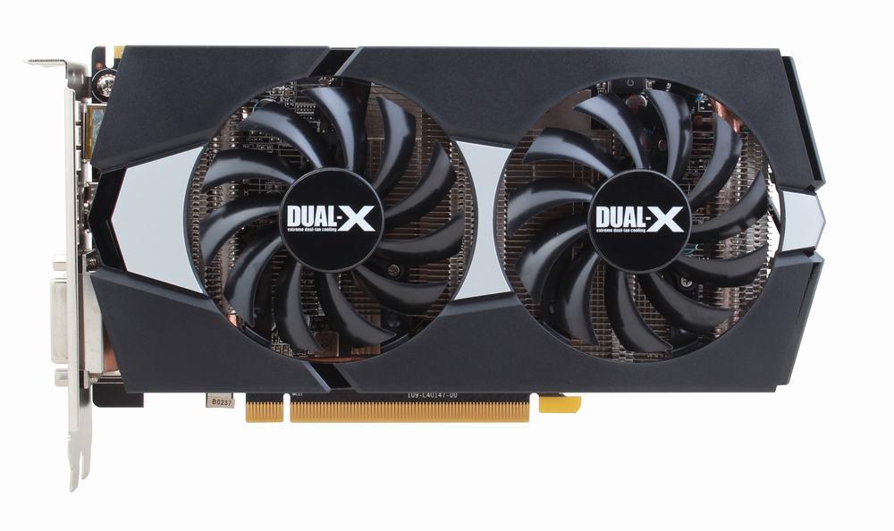 Б/у, игровая Видеокарта Sapphire AMD Dual-X R9 270 2G D5