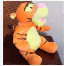 lovely stuffed animal tiger plush toys jumping tiger toys little tiger birthday gift about  40 cm