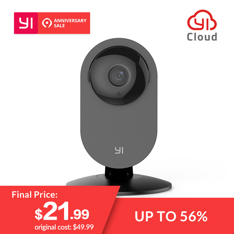 feab5dcdf9f YI Home Camera 720P Night Vision Video Monitor WiFi IP Wireless Network  Indoor Surveillance Security
