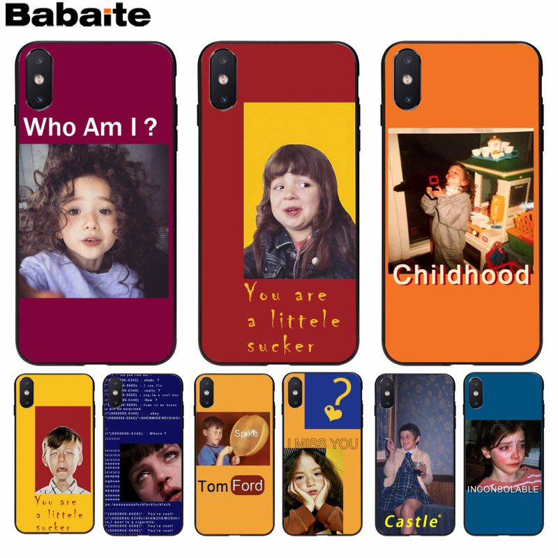 Phone Bags & Cases Dedicated Babaite European And American Spoof Girls Design Novelty Fundas Phone Case Cover For Iphone 8 7 6 6s Plus X Xs Max 5 5s Se Xr A Plastic Case Is Compartmentalized For Safe Storage