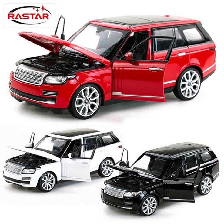 SAINTGI Range Rover SUV Diecast Metal Alloy Car Classical Model BoysGift Vehicle Simulation Evoque Collection 1:24 Scale 1 6 scale asian men with beard head sculpt for 12 inches male bodies figures dolls accessories brinquedos gifts toys