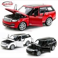 1pcs Range Rover SUV Diecast Metal Alloy Car Classical Model BoysGift Vehicle Simulation Evoque Collection Children