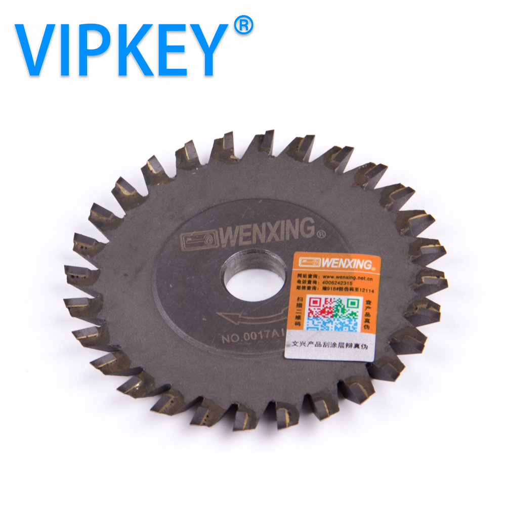 NO: 0017AI. C. C машина для резки ключей титанизация 80*6*12,7 мм Вольфрам wenxing ключ Режущий диск для 100 г ключ дублирующий станок