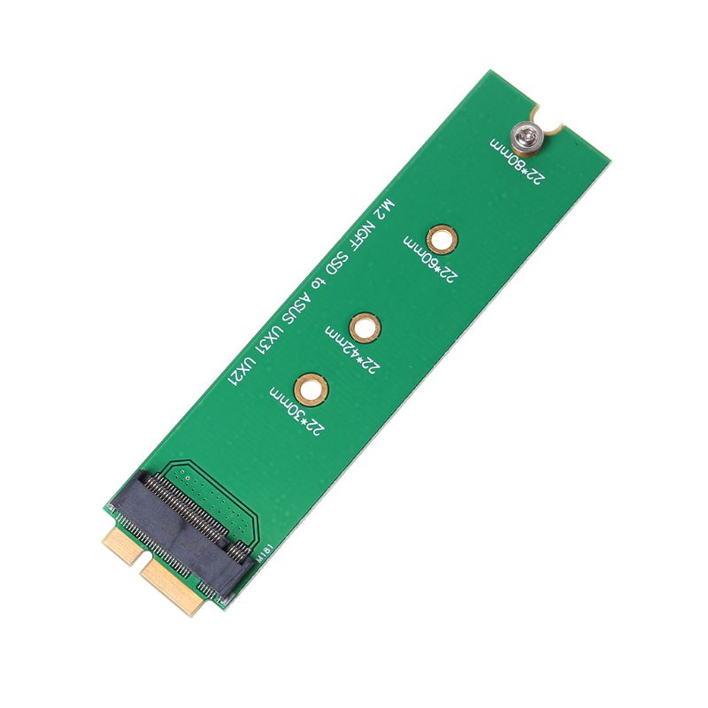 SSD Card M.2 NGFF To 18 Pin Blade Adapter For Asus UX31 UX21 Zenbook SD5SE2 XM11
