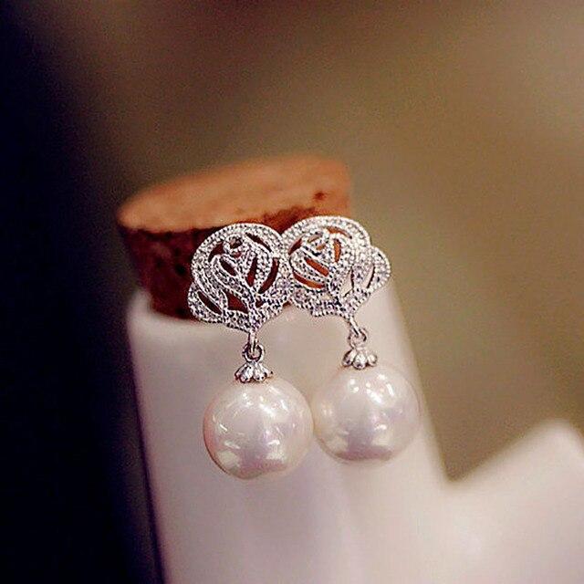 """Bông Tai Hàn Quốc Nữ Vàng Bạc Earing Trang Sức Thời trang Oorbellen Mujer """"Boucle D'oreille Brinco Trang Sức Orecchini"""