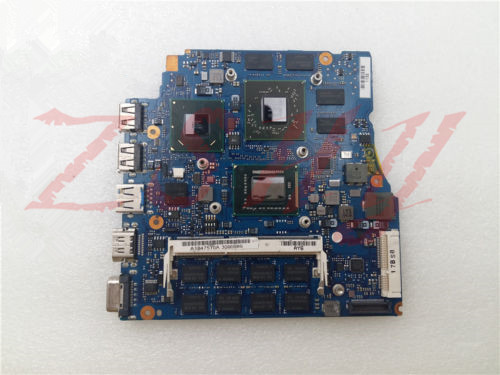 """for SONY VPCSB VPCSA VPCSD Pcg-41213w VPCSC A1846585A mbx-237 laptop motherboard 13.3"""" I7 DDR3 Free Shipping 100% test ok"""
