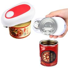 New 2018 Electric One-Button Can Opener Automatic Innovative Jar Opener Without Battery Hands Free Operation Kitchen Tools(China)