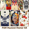 Cool Design Printed Shells For Huawei Honor 5X Honor Play 5X Mate 7 Mini GR5 5.5 inch Honor5X mate7 mini Phone Cases Bags
