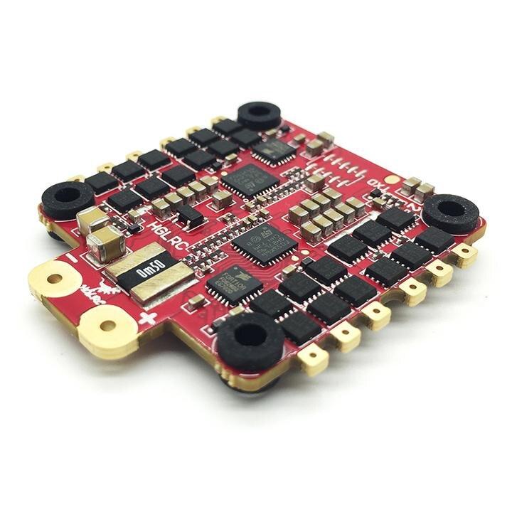 30.5x30.5mm HGLRC DinoShot 60A 32bit 3-6 S 4IN1 ESC Dshot1200 pour RC modèle Multirotor