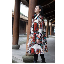 2017 Hot Sale And Coats New Explosion Of Large Size Women Folk Style Manual Pankou Dragon