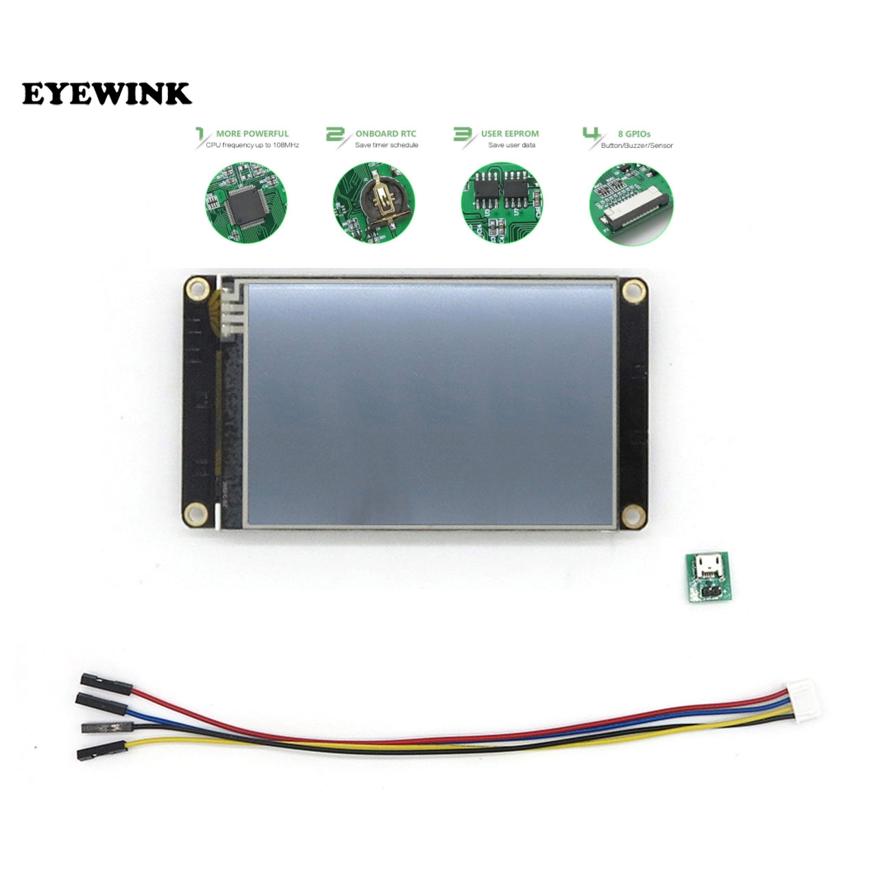 3.5 Inch Nextion Enhanced HMI Intelligent Touch TFT LCD Module Display Panel