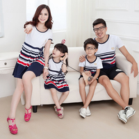 2015 Matching Mother Daughter Clothes Family Look Girl And Mother Mommy And Me Clothes Parent Child