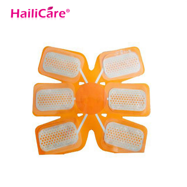 EMS Abs Replacement Slimming Pads Abs Trainer Replacement Sheet Abdominal Toning Muscle Trainer Accessories Gel Sheets Gel Pads