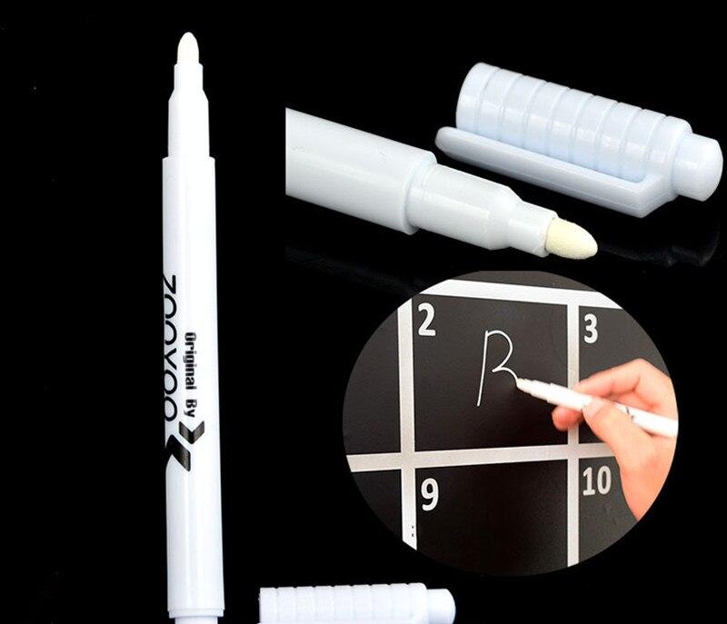 4/3/2/1 Pcs White Liquid Chalk Pen Marker Glass Windows Chalkboard Blackboard Liquid Ink Pen Used On Chalkboard Window White Pen