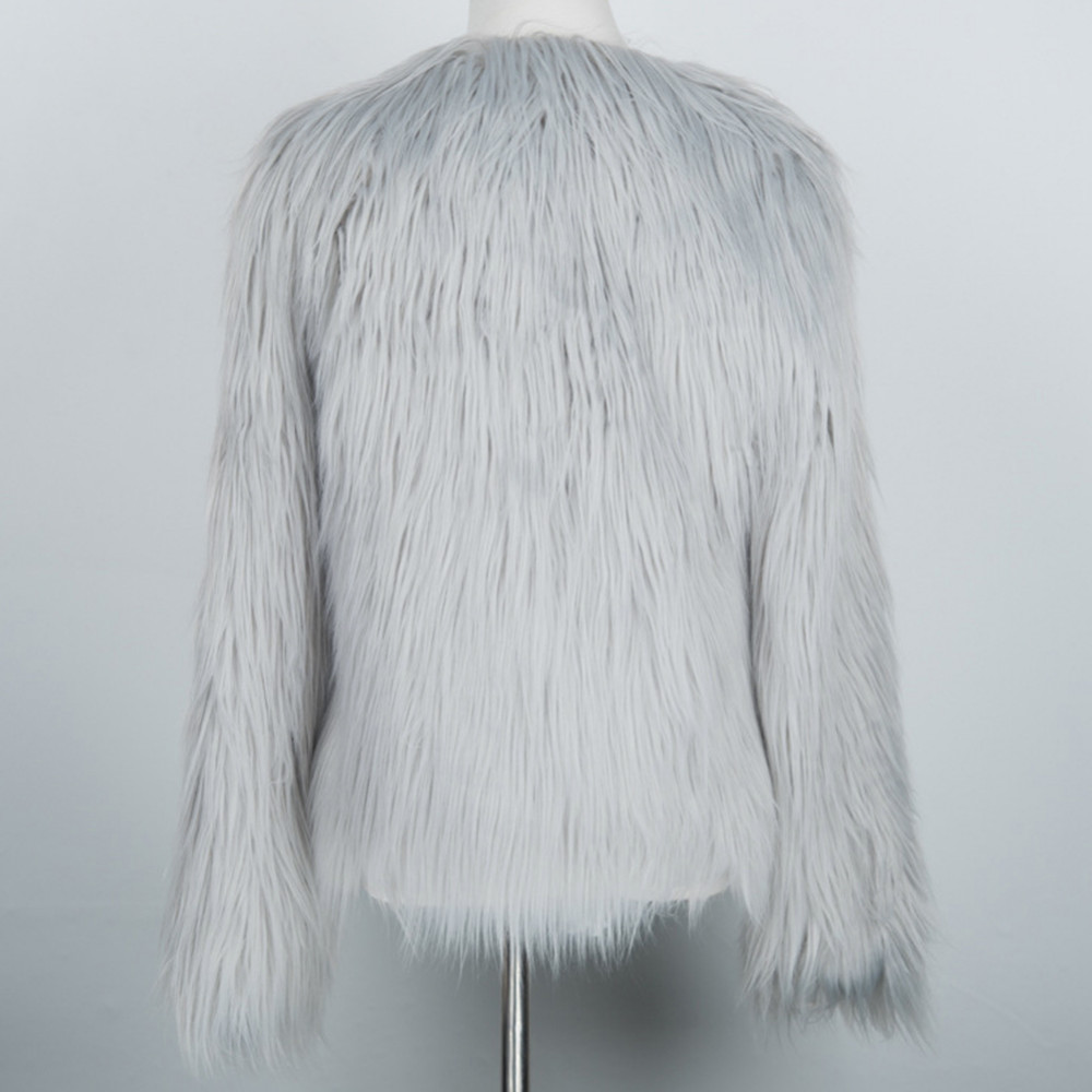 Chic Soft Faux Fur Coat 18