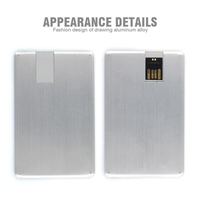 promotional gifts 4gb 8gb 16gb 32gb ultra thin aluminum alloy ...