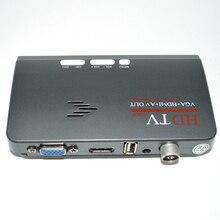 Desxz HDMI 1080 P dvb-t/T2 ТВ коробка VGA AV CVBS тюнер приемник с Пульты дистанционного управления HDMI HD 1080 P VGA DVB-T2 ТВ коробка для России новый