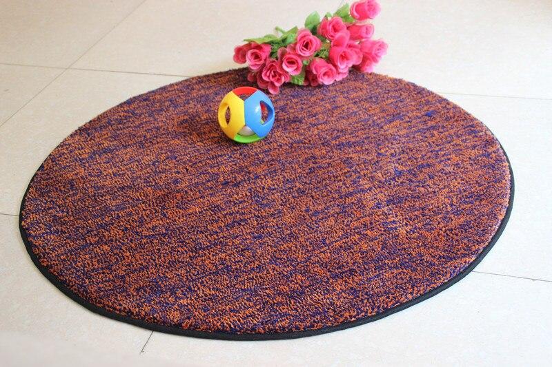 Kurze Runde Teppich Durchmesser 60 80 100 110 120 CM Nylon Reine