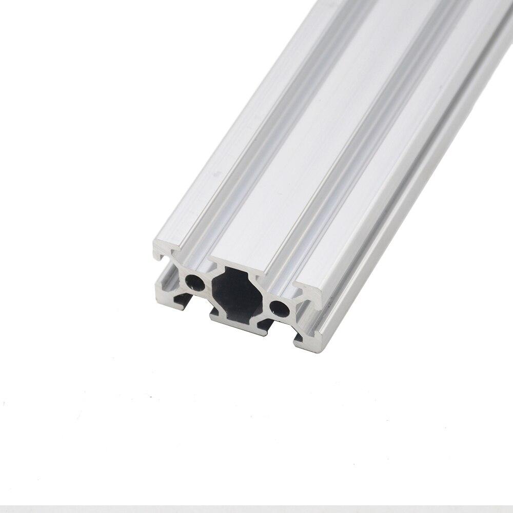 Piezas de impresora CNC 3D 2040 perfil de aluminio estándar europeo anodizado perfil de aluminio 2040 extrusión 2040 pieza cnc
