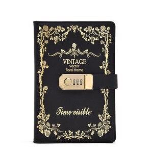 Image 5 - Ретро книга с паролем, креативный ученический дневник, блокнот, ручная книга, канцелярский журнал