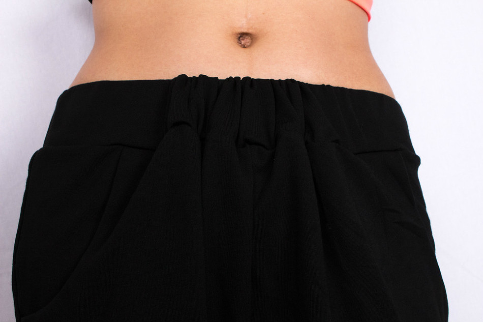 Stretch Dance Pants Cotton Casual Trousers Hop Women Summer Sweatpants Baggy Skinny Harem Female Hip Black 6w6OfT