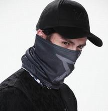 цена на Wholesale Watch Dogs Mask Cap Cotton Hat Set Costume Cosplay Aiden Pearce Face Mask Mens 6 Panel Tactique Baseball Caps Mask