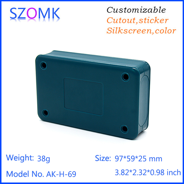 one piece abs mateial handheld plastic box power supply for pcb ...