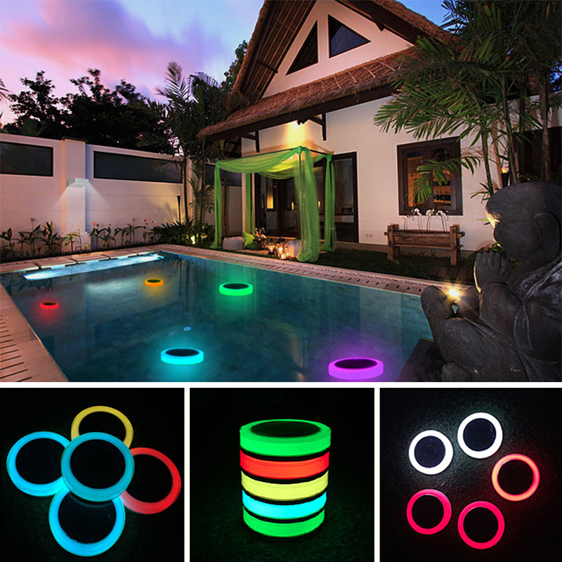 Lights & Lighting Swimming Pool Light With Remote Control Rgb Submersible Light Durable Led Bulb Portable Underwater Night Lamp High Quality