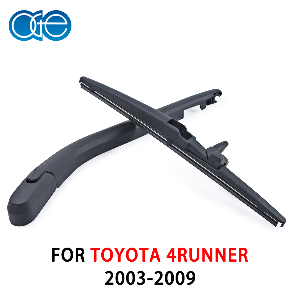 OGE Premium Rear Wiper Arm and Blade For <font><b>Toyota</b></font> <font><b>4Runner</b></font> From <font><b>2003</b></font> to <font><b>2009</b></font> Windshield Car Auto Accessories image