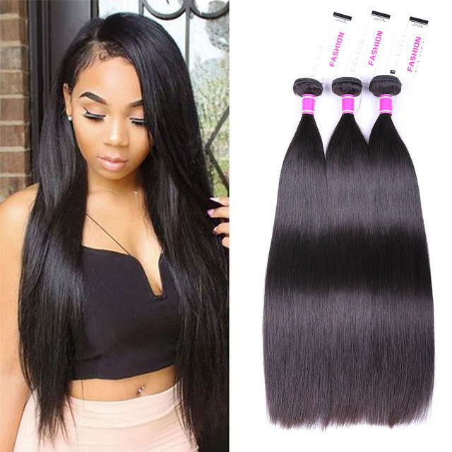 Brazilian Straight Hair Bundles Mink Brazilian Human Hair Weave