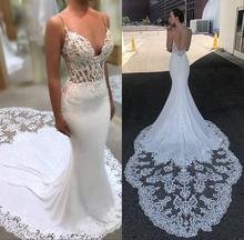 Robe de mariee/кружевное свадебное платье Русалочки 2019 пикантные