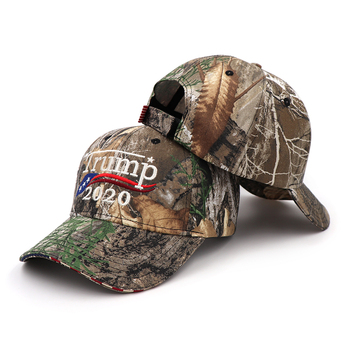 [SMOLDER]Make America Great Again Embroidery USA Flag 2020 Donald Trump Hat Re-Election Cotton Baseball cap Outdoor Camouflage 1