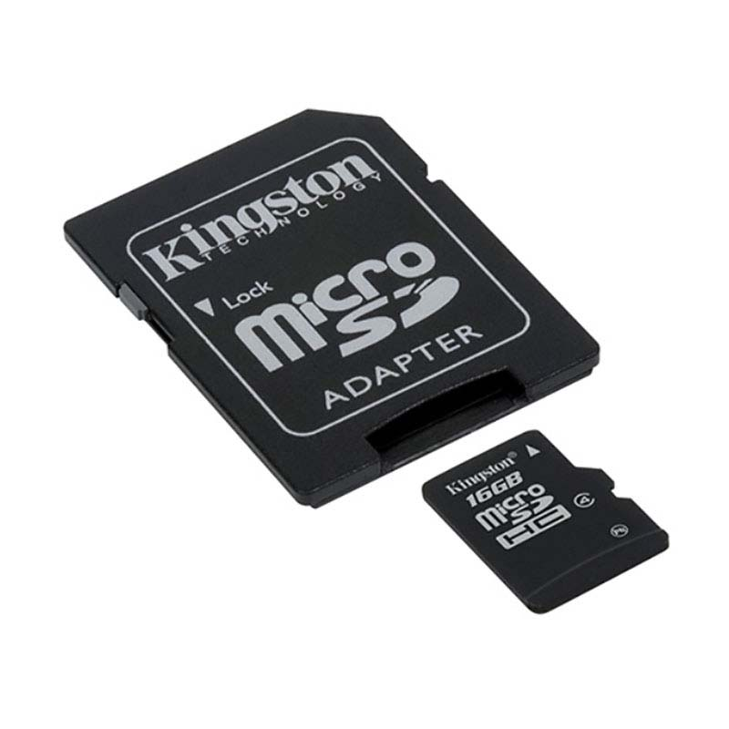 Image 3 - Original Kingston High Speed MicroSD Class 4 Micro SD Card 8GB 16GB 32GB Memories Card  TF Microsd SDHC With Adapter And Reader-in Memory Cards from Computer & Office