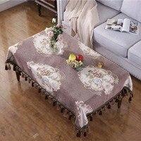 Baumwolle Baumwolle Ende Tisch Tisch Tuch Runde & Rectable Tisch Abdeckung für Küche Dinning Wohnzimmer Tabletop Tee Tisch Tischdecke-in Tischdecken aus Heim und Garten bei