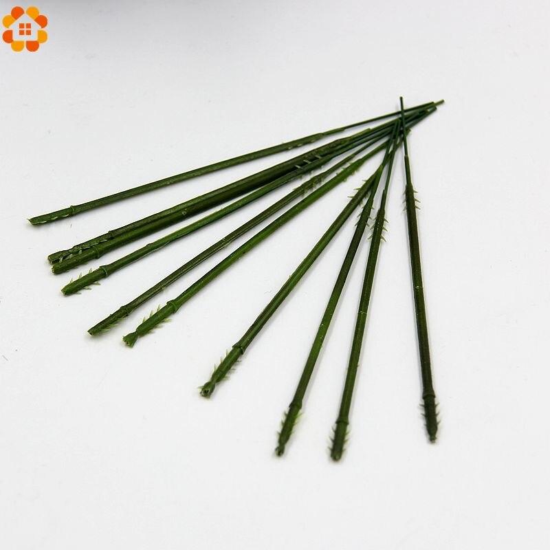 13.5 CM del tallo de la flor arreglo floral accesorio principal que contiene ala