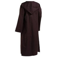 Star Wars Jedi Hooded Cloak Party Halloween Cosplay Costume For Adult Men