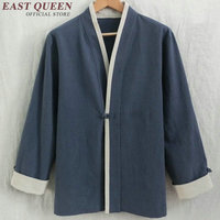 Traditional Chinese Clothing For Men Jackets Coats Mandarin Collar Top Ethnic Clothing Outerwear KK013
