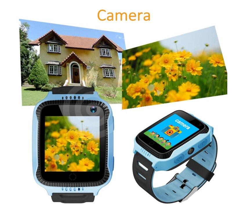 GIVENONE Q528 Enfants GPS Montre Intelligente Avec Lampe De Poche ET Appareil Photo Y21 Bébé Surveillance Appel SOS Localisation Appareil Traçage Enfants Montre Sure - 5