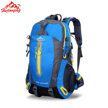 40L Outdoor Camping Hiking Backpack,Men Women' s Sports Trekking Backpack Waterproof Travel Climbing Bags(China)