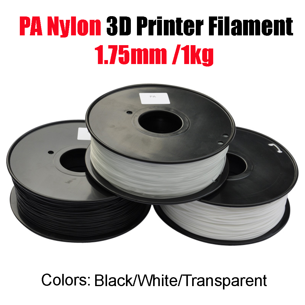 New 1KG 1.75mm PA Nylon 3D Printer Filament Consumables Materials For Modled High Strength видеокарта sapphire 8192mb rx 580 pulse 11265 05 20g dvi 2xdp hdmi ret