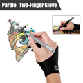 Parblo PR-01Two Dedos Guante Anti-fouling para Parblo A610 Tableta Gráfica Dibujo Pintura Bordo