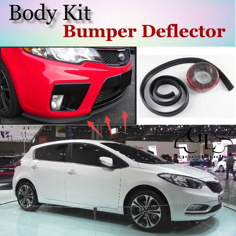 2015 Kia Forte Exterior: Bumper Lip Deflector Lips For KIA Forte K3 Cerato Shuma